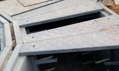 深圳预制装配轻质电缆沟工程
