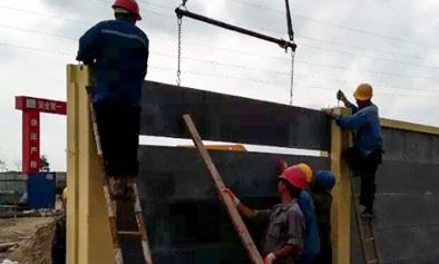 江门预制装配围墙工程