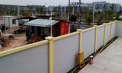 柳州预制装配围墙工程