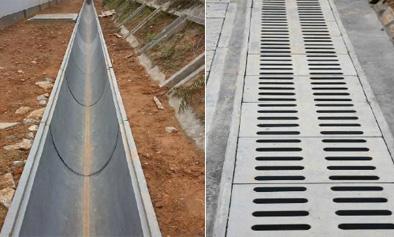 深圳预制装配电力排水槽工程