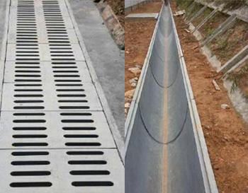 预制装配轻质排水沟