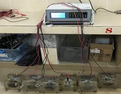 氯离子迁移及电通量测试